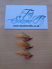 3x Underghillie Size 12 Double Hook Salmon Fishing Flies NEW