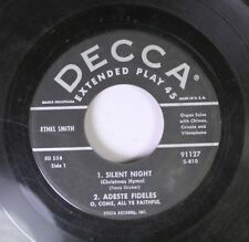 Christmas 45 Ethel Smith - Silent Night And Adeste Fideles / Hark! The Herald An