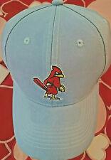 Memphis Redbirds St Louis Cardinals Baseball Light Powder Blue Adjustable Hat