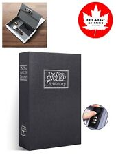 Book Safe with Combination Lock, Dictionary Diversion Book Safe