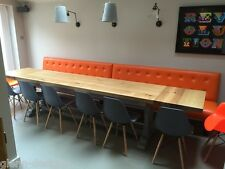 8,10,12,14,16+seater,Extending, Solid Oak, Monks Refectory Dining Table,  M-t-M