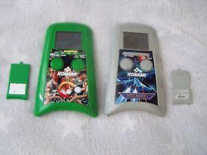 Contra + Gradius LCD Game Vintage Handheld Konami 1989 arcade nes