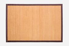 Alfombra de bambú 150x200 Natural
