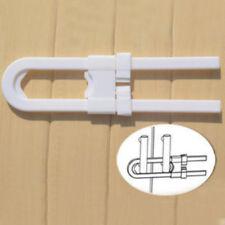 Adjustable Baby Kids Safe Lock Door Cupboard Proof U Cabinet Safty Locks New