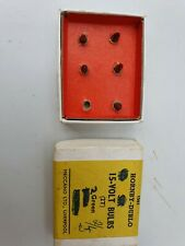 Hornby Dublo Electric bulbs model railway  vintage original boxed spares parts