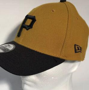 Pittsburgh Pirates MLB New Era S/M Gold Team Classic 39THIRTY Flex Hat