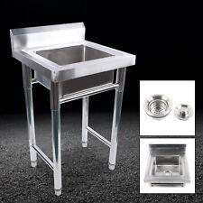 197 197 315 Inches Stainless Steel Floor Mount Bar Prep Kitchen Sink