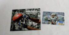 New England Patriots Superbowl MVP Tom Brady Credit Card Promo Visa Folder RARE