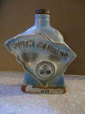 Vintage Jim Beam Decanter- 1970 South Carolina Tricentennial 1670-1970- Bottle
