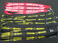3er SET  REMOVE BEFORE FLIGHT /   DANGER / Rescue / Aircraft / Avion / YakAir