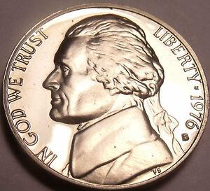 1976-S Preuve Jefferson Nickel~ plein De Preuves