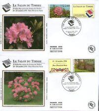 FDC - FRANCE 2849-2850 - SALON DU TIMBRE 1993