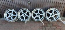 """Genuine BROCK B9 19"""" 3 Piece Split Rim Wheels RADINOX Lip 5x112 Audi Vw Bmw R32"""