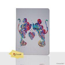 VENTOLA ART CUSTODIA / Cover Apple iPad 2/3/4 / pieghevole Folio /CUOIO Mickey &