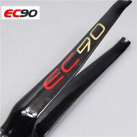 """EC90 Carbon fiber 1-1/8"""" 700C Road Bike Fork Superlight Cycling C brake Forks"""