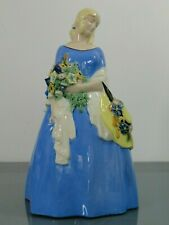 Figur,Michael Powolny,Wiener Keramik,Sommer,Krinolinendame,um 1910,Jugendstil