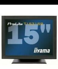 Touchscreen monitor, Iiyama ProLite T1531SR for keosk shop or industrial use