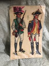 New Vtg Soilders Patriots Revolutionary War America Meyercord Decoration Decals