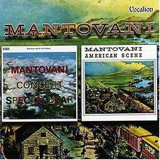 Mantovani AMERICAN SCENE & CONCERT SPECTACULAR - CDLK4157