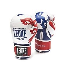 GUANTONI LEONE MUAY THAI BIANCO GN031 10OZ BOXE KICK BOXING MMA SAVATE THAI BOXE