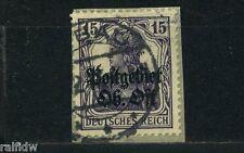 Ober-Ost 15 Pfg. Germania 1916 bessere Farbe Michel 7 a geprüft (S9499)