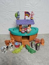 Fisher Price Little People Noah's Ark with 6 Pair Animals & Noah & Wife Naamah
