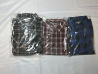 New VINTAGE Mens Haband Lot of 3 Long Sleeve Button Down Shirts Medium