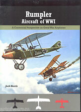 Rumpler  Aircraft of WWI   by   Jack Herris  new SB book