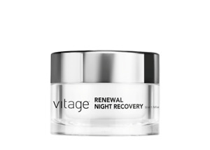 Vitage Skincare Renewal Night Recovery Cream 50ml New Boxed