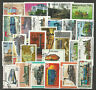 RAILWAYS TRAINS RAILROADS Collection Packet of 25 Different WORLD Stamps