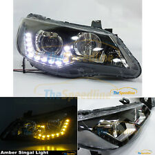 06 07 08 09 10 11 Acura CSX GTI STYLE LED Projector Headlight FD1 FD2 DRL CIVIC