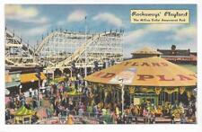 CAROUSEL,COASTER,PENNY ARCADE,ROCKAWAYS' PLAYLAND~QUEENS,NY