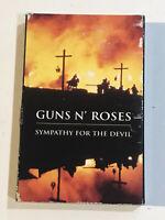 GUNS N' ROSES SYMPATHY FOR THE DEVIL MUSIC CASSETTE TAPE