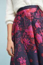 ANTHROPOLOGIE NWT Eva Franco Jacquard Asymmetrical Skirt Sz 2 Fits 0 XS $178