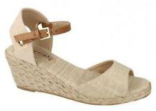Spot On Textile Heels