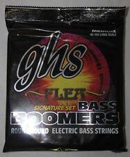 GHS : Jeu de cordes BASSE BASS BOOMERS MEDIUM Flea Signature 45-105 - Ref M3045F