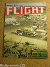 FLIGHT INTERNATIONAL #3294 - HANOVER SHOW - 27 April 1972
