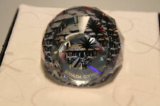 Swarovski Crystal Round Ball 40mm Paperweight 9406 Nr 40 Bermuda Cottage Mint