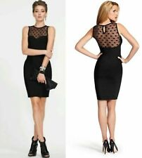 GUESS BY MARCIANO DARCY DOTTED BANDAGE DRESS SOLD OUT