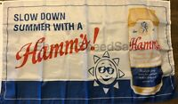 Hamm's Beer Flag 3x5 Banner Theodore Hamm Brewing Co. Man Cave Bar