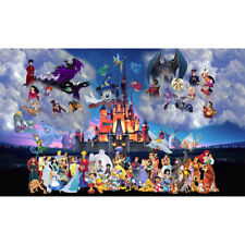 5D DIY Full Drill Diamond Painting Disney Cross Stitch Kits Decor Art Craft