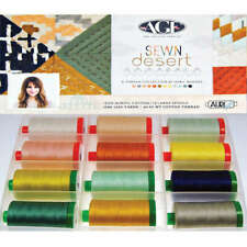 AURIFIL Sewn Desert 50wt Cotton Threads 12 Pack AP5040SD12 April Rhodes