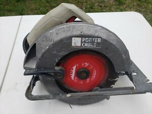 """Porter Cable PC15TCS  15 Amp  7-1/4"""" Heavy Duty Circular Saw, Slightly Used"""