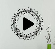 Music Vinyl Decal Musical Symbols Vinyl Stickers Home Interior Window Sticker 3