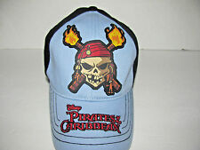 """DISNEY PIRATES of the CARIBBEAN """"DEAD MAN'S CHEST"""" YOUTH CAP/HAT  BASEBALL STYLE"""