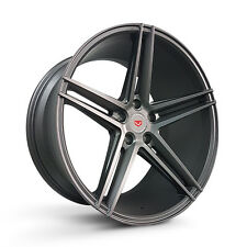 4 x Vossen 5 Spoke Design 5 x 112 19X9.5 ET25 rims sport mags grey