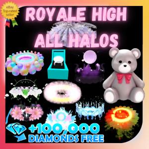 ROYALE HIGH - HALO & ACCESSORIES & SET &  DIAMONDS - RH |(Read Description)|