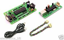 ATMEL 8051 Development Board with AT89S52,MAX232 & AVR & 8051 USB ISP Programmer