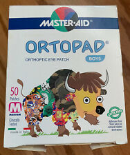Ortopad 48 ORTHOPEDIC colorful EYE PATCHES Boys patterns Medium