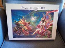 Blatz puzzle 1000 teile. Die schöne und der Drache